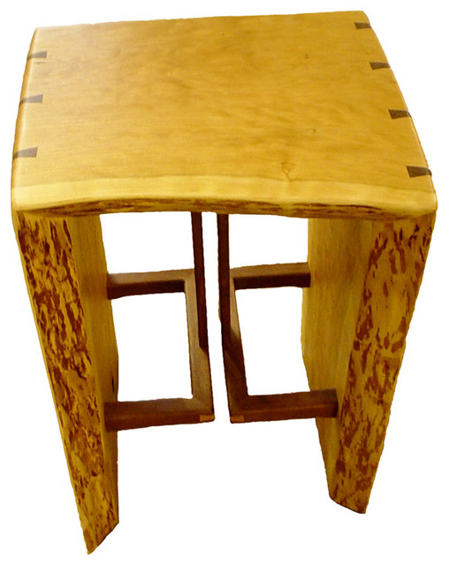 Tables, Benches, & Vanities eclectic-living-room-chairs