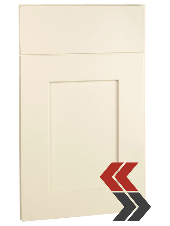Shaker Cabinets- Maple Antique White -