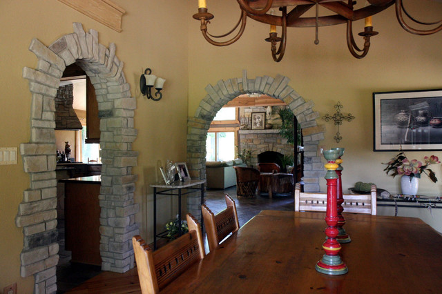 Interior Design With Stone Veneer - Traditional - chicago - by North Star Stone