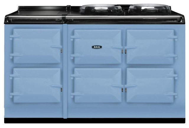 AGA Total Control 5 Oven Range Cooker, Duck Egg Blue   ATC5-DEB gas-ranges-and-electric-ranges