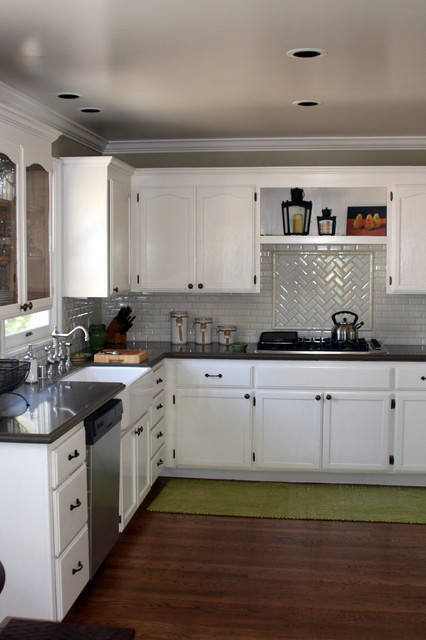 Cottage Kitchen by Valerie Pedersen traditional kitchen
