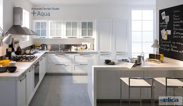 "Aqua range hood 36"". Elica Brand contemporary-range-hoods-and-vents"
