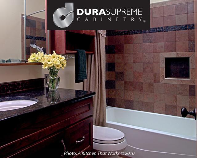 Early Split Level Bathroom Remodel transitional-bathroom
