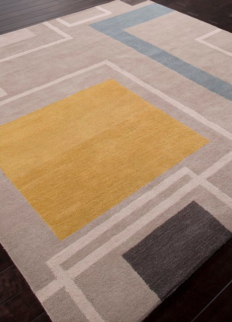 Hand Tufted Square Wool Rug 8x8 Transitional Rugs