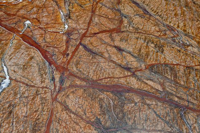 Rainforest Brown Granite : Rainforest brown granite marble modern kitchen