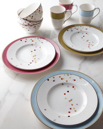 Lenox Kate Spade Bright Dots Dinnerware Four-Piece Place Setting traditional-dinnerware