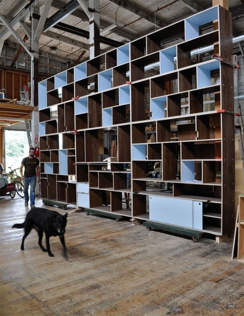 wall bookcase design in - photo #42