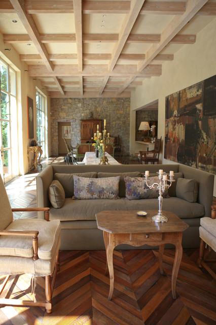 Sacramento Residence mediterranean-living-room