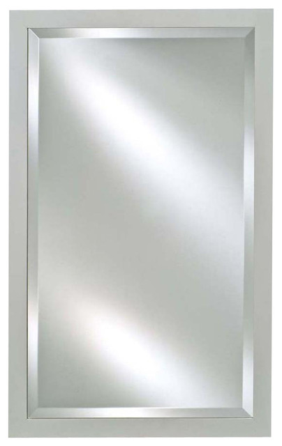 Estate rectangular wall mirror extra large for Large contemporary mirrors