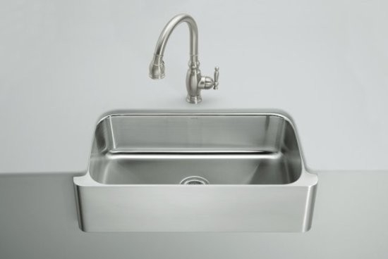 Kohler Stainless Apron Sink : New - Kohler K 3894 4 Na Top Mount Under Mount Stainless bunda-daffa ...