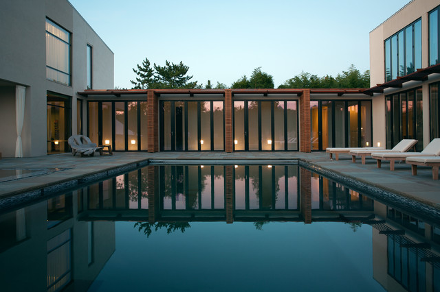Landscapes contemporary-pool