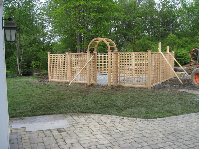 Fenced Garden   Eclectic   Other Metro   By Land Design, Inc.