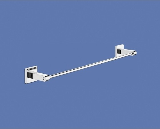 19 Inch Wall Mounted Bathroom Towel Bar contemporary-towel-bars-and-hooks