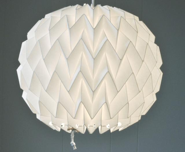 Bubble Lamp Shade modern-pendant-lighting