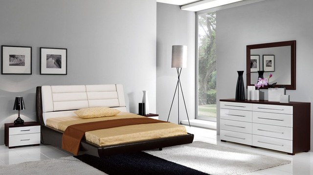 Made In Spain Leather Designer Master Bedroom Furniture With Extra Storage Contemporary Beds