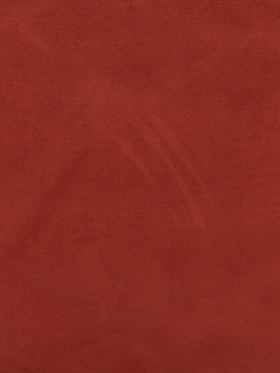 C051 Red Orange Microsuede Fabric By The Yard -