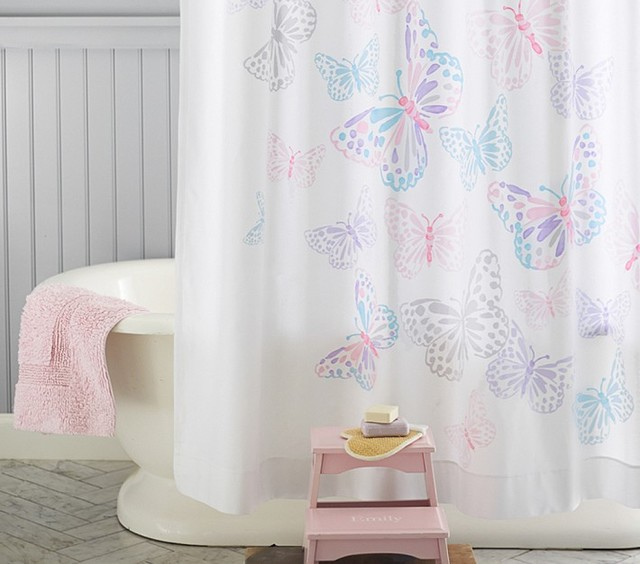 butterfly shower curtain shower curtains san francisco by