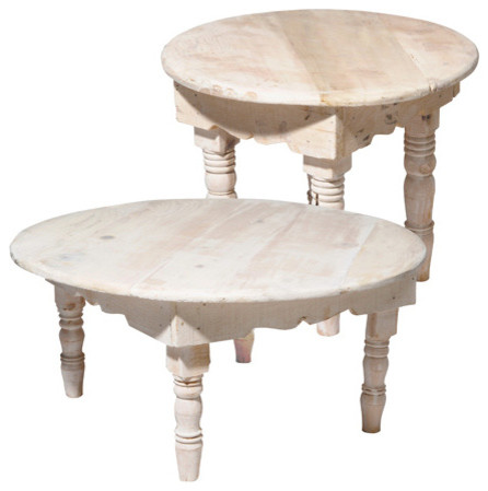 Natural Round Table, Marrakech eclectic-side-tables-and-accent-tables