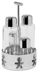 Alessi AKK 73 Girotondo Condiment Set modern-serving-utensils