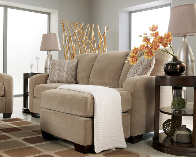 Fabric Sectional Sofa - traditional - sectional sofas - vancouver
