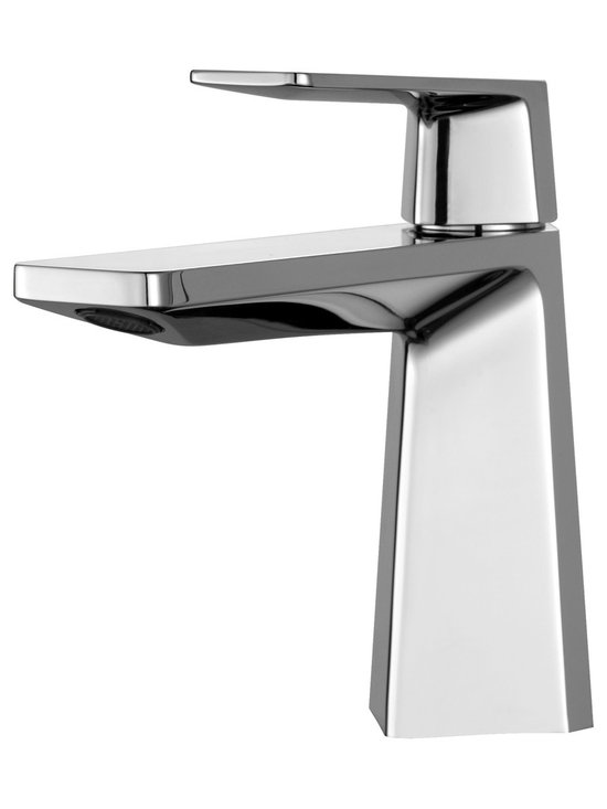 Kraus - Kraus KEF-15301CH Aplos Single Lever Basin Bathroom Faucet Chrome - Give your bathroom a style upgrade with the Aplos single lever