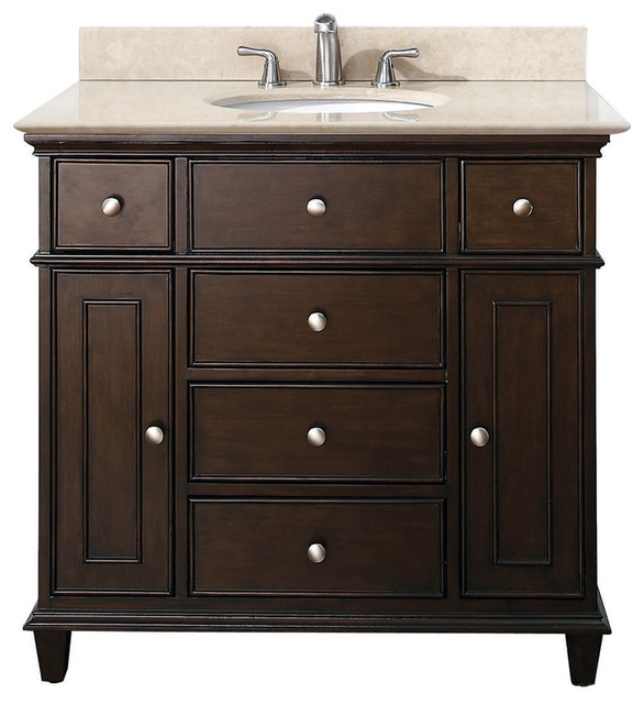 Walnut Bathroom Vanities - Traditional - Bathroom Vanities And Sink Consoles - los angeles - by ...