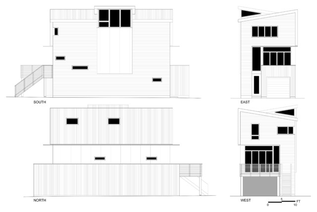 1. Squamish residence 1 contemporary exterior elevation