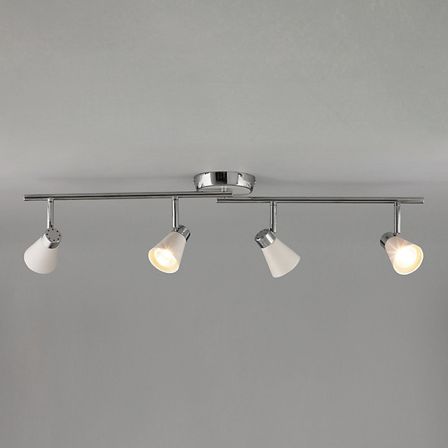 Logan 4 Spotlight Ceiling Bar Modern Track Lighting