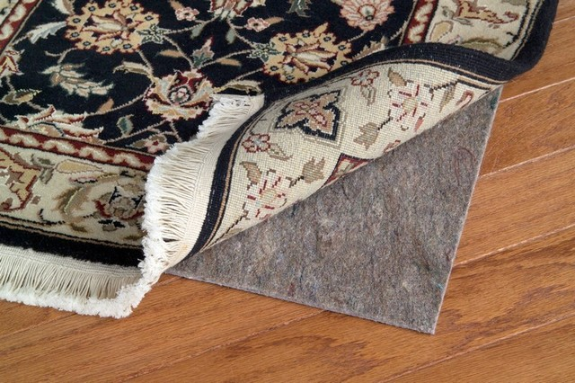 Felt and rubber rug pad traditional-rug-pads
