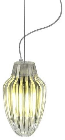 Luceplan | Miss K Table Lamp By Flos (Clear/Silver) modern-pendant-lighting