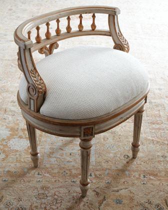 Taryn Vanity Seat traditional-living-room-chairs