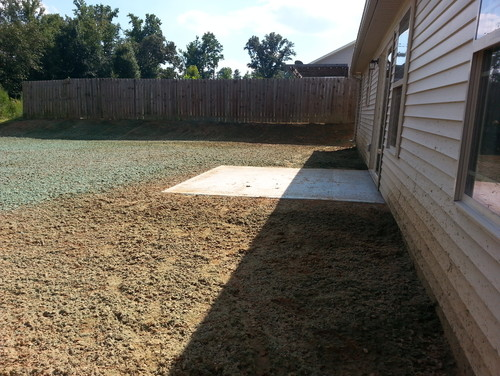 Big Flat Backyard Ideas : Blank back yard  What to fill it with??