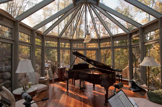 Woodland Retreat Interior Aluminum Conservatory