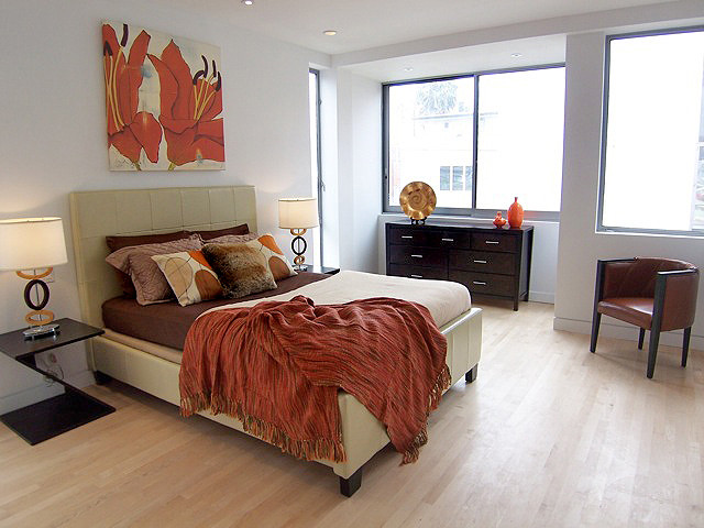 staged bedrooms contemporary bedroom los angeles by stage to