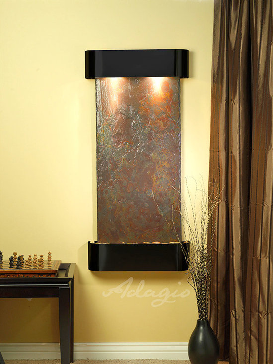 The Cascade Springs Indoor Fountains - The Cascade Springs is an ideal choice for any client looking for a small to medium sized wall water feature.