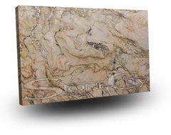 Fascination Quartzite Slab traditional kitchen countertops