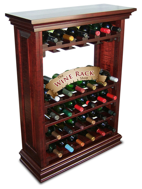 30 Bottle Wine Cabinet With Stemware Holders -