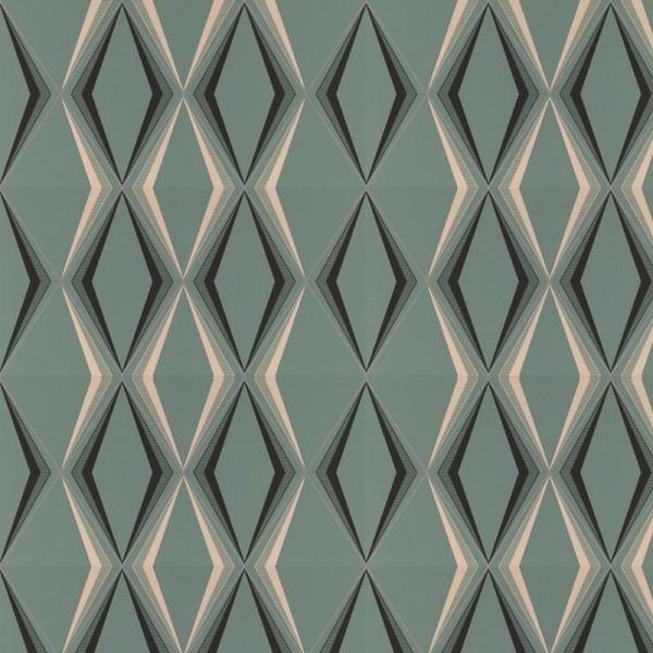 Wayne hemingway wallpaper deco diamond wallpaper for Modern wallpaper for walls