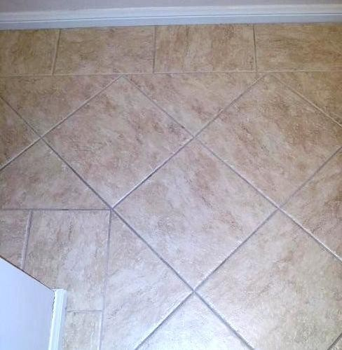 Tile Border - diamond pattern traditional