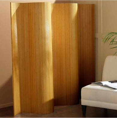 Natural Bamboo Screen contemporary-screens-and-room-dividers