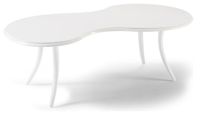 Modello Outdoor Coffee Table, Patio Furniture traditional-outdoor-coffee-tables