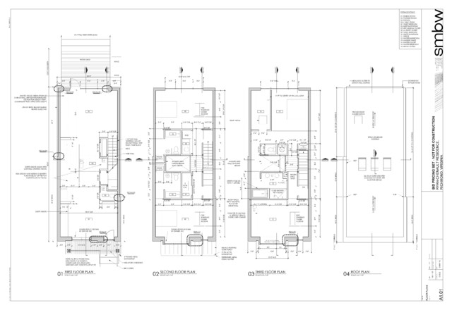 Richmond Row House Modern Floor Plan Richmond By