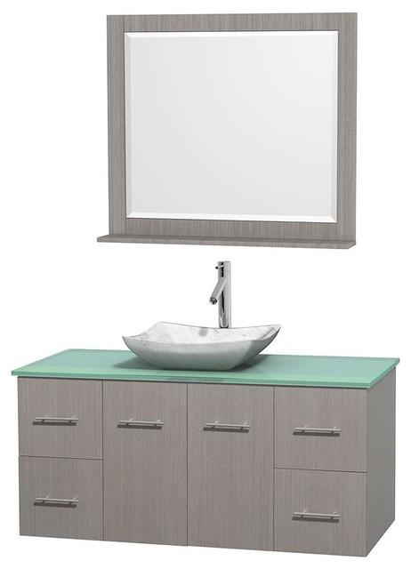 Beautiful Green Keysville Bathroom Sink Vanity  Model HF087G Modernbathroom