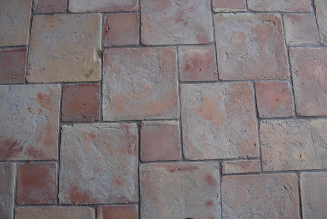 Spanish Terracotta Tiles mediterranean-floor-tiles