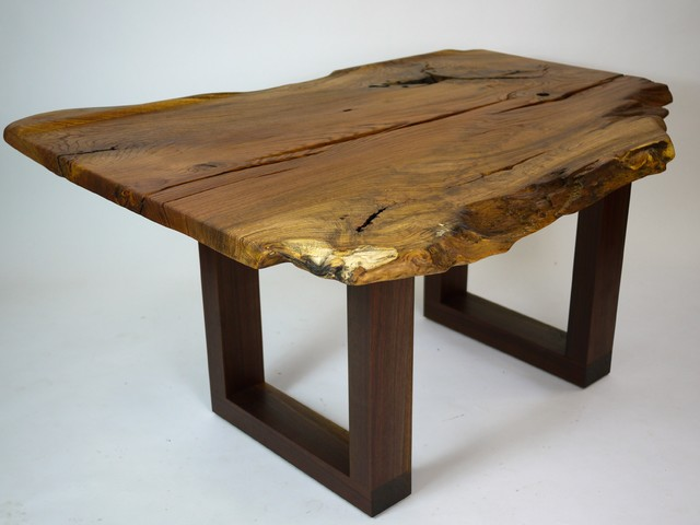 SuperNatural Oak & Walnut desk #3 eclectic-desks-and-hutches
