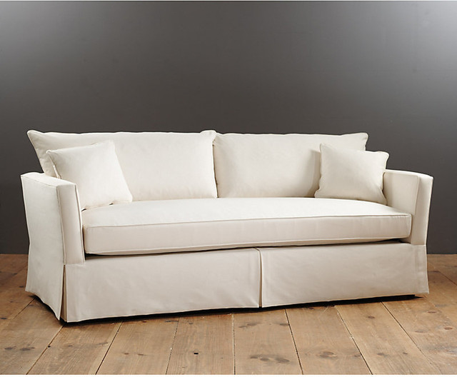 Bradley bench seat sofa contemporary sofas by ballard designs Bench sofa