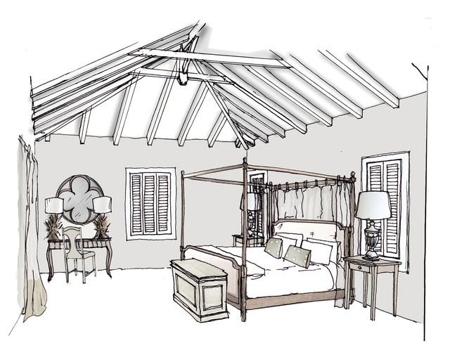 Perspective Drawings Traditional Rendering London By Studio Beekhuis