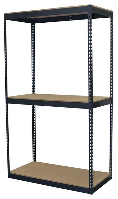 Free Standing Cabinets Racks & Shelves: Storage Concepts Garage Shelving - Contemporary - Garage ...