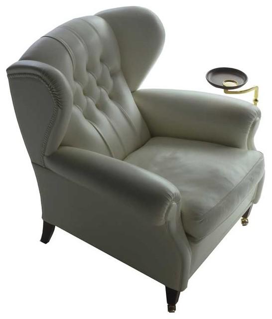 Poltrona frau 1919 armchair with plate modern for Poltrona frau 1919