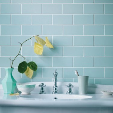Cool Shaped Bath Metro Tiles  Our House  Bathroom  Pinterest